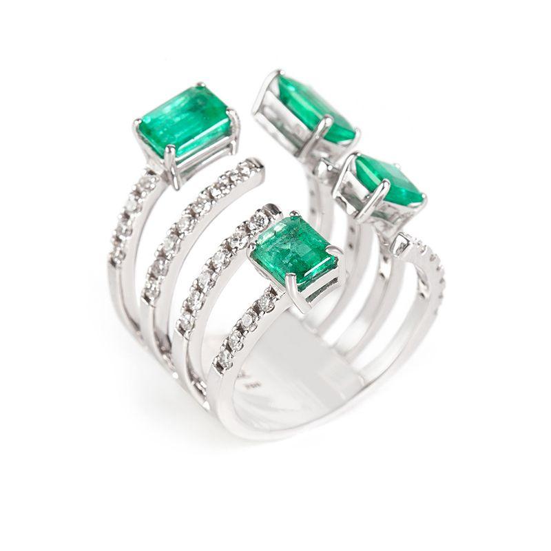 anel-ouro-branco-esmeralda-brilhantes-8-aros