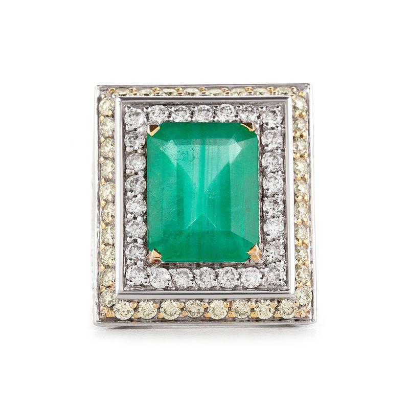 anel-ouro-branco-esmeralda-fancy-brilhantes-frente