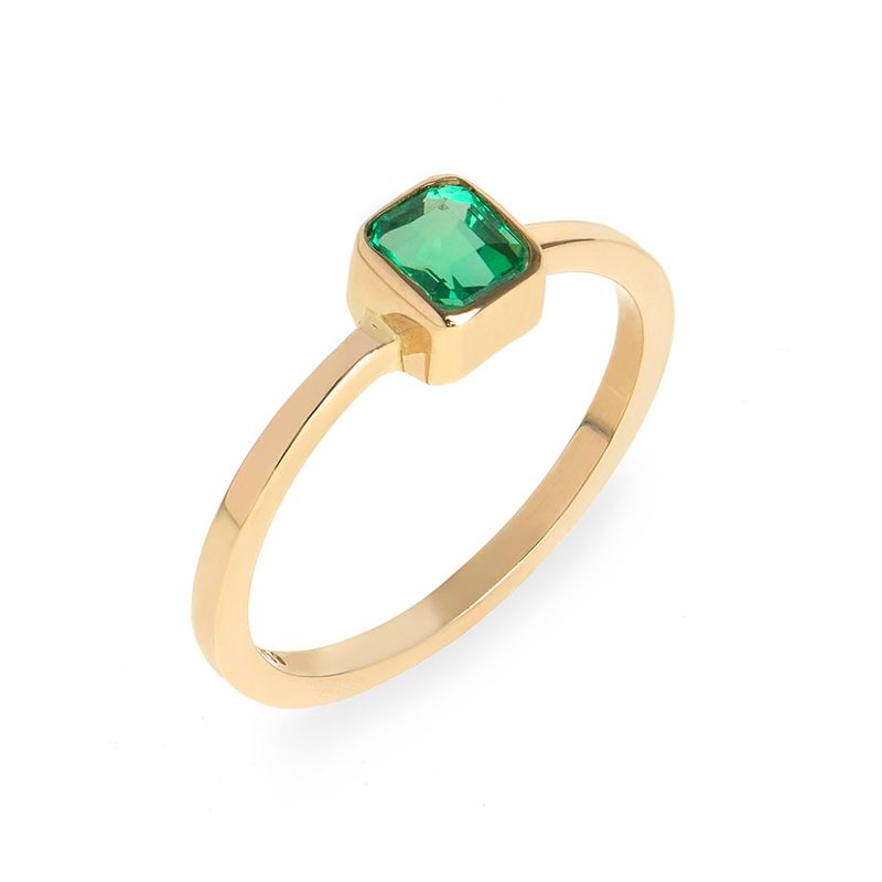 anel-ouro-amarelo-esmeralda-cushion