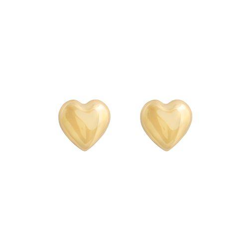Brinco coração 8mm