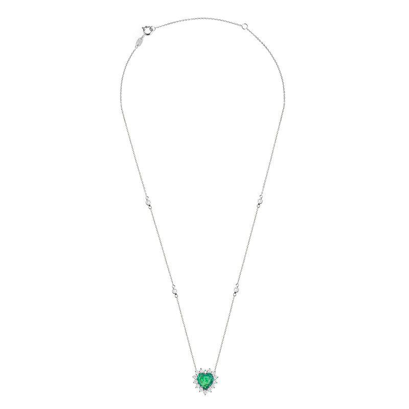 colar-coracao-esmeralda-brilhantes-brancos