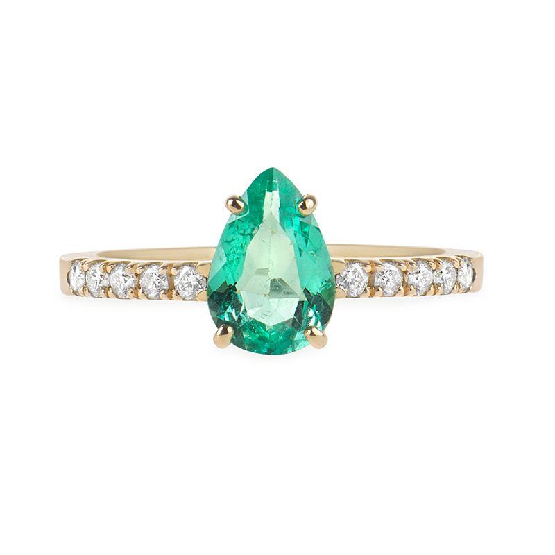 anel-esmeralda-colombiana-brilhantes-brancos-frontal-ANOAESM17800