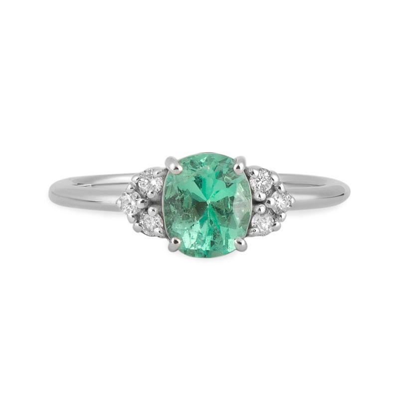 anel-esmeralda-colombiana-91-pontos-brilhantes-frontal-ANOBESM385700